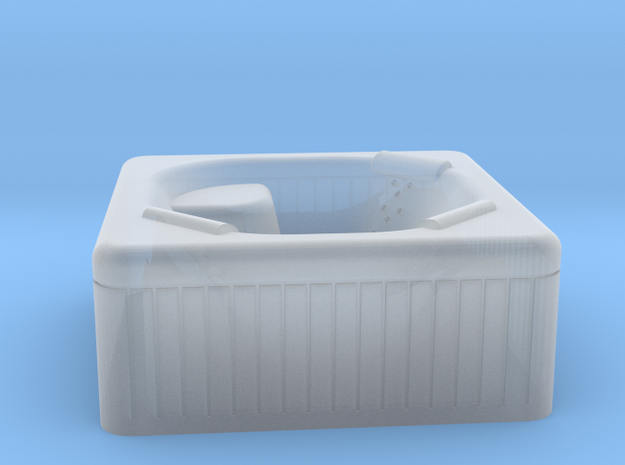 Jacuzzi Outdoor Hot Tub N-scale in Frosted Ultra Detail