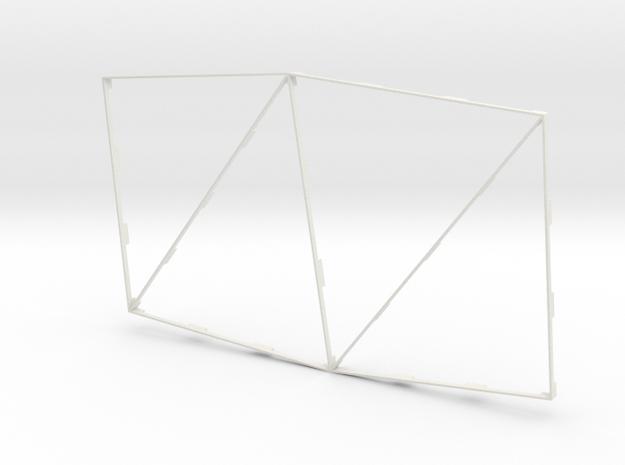 Sawtooth Alpha in White Natural Versatile Plastic