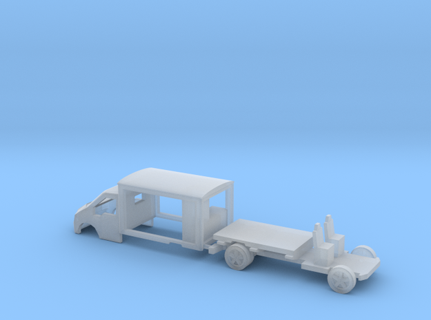 N Gauge Transit Milk Float