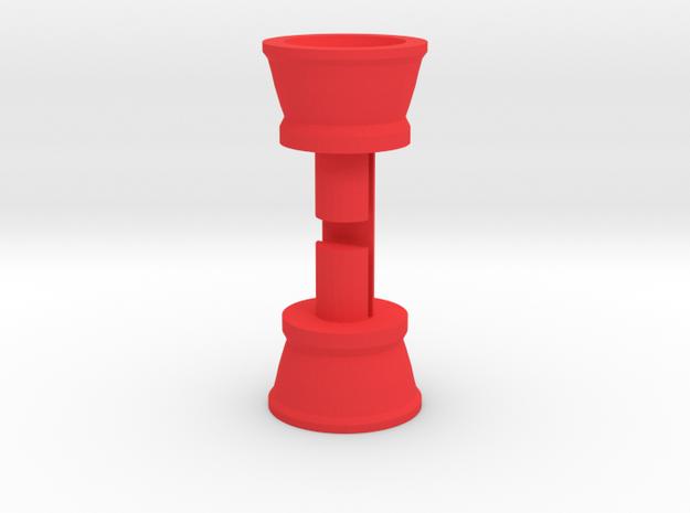 Dinky Underthruster Enhanced Pair in Red Processed Versatile Plastic