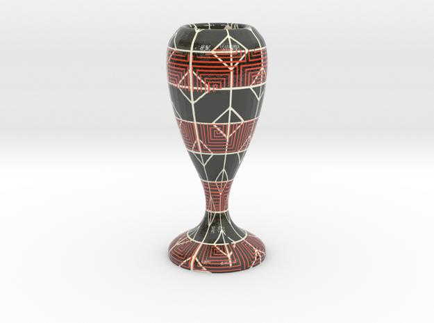 Chalice in Glossy Full Color Sandstone