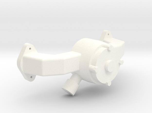 Brodix BBC 1/12 Elec Wp  in White Processed Versatile Plastic