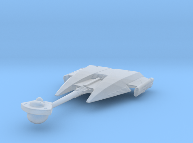 Klingon D10 (Riskadh) 1/5000 Attack Wing in Smooth Fine Detail Plastic