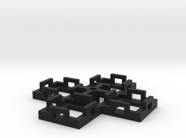Flight Stand - 4 Dice in Black Strong & Flexible