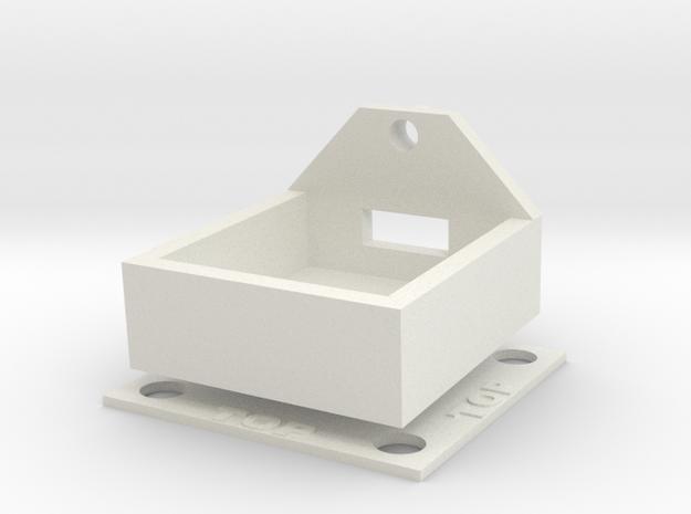 Kodak SP360 4K Top Mount For the DJI Mavic Pro in White Natural Versatile Plastic