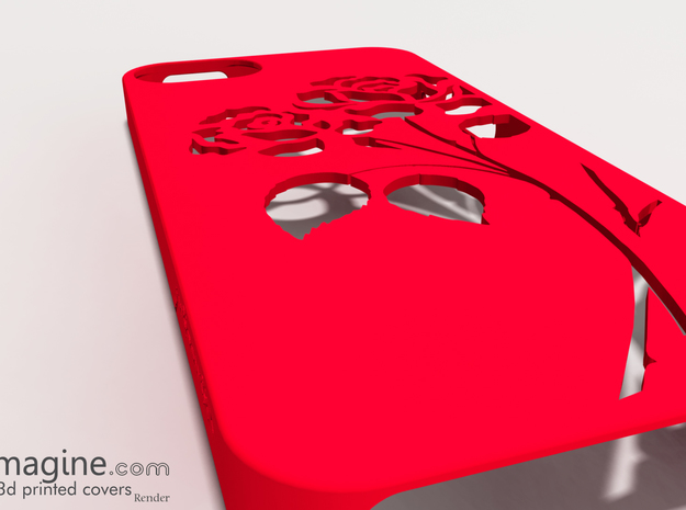 iRose iphone Case 3d printed iRose iphone Case
