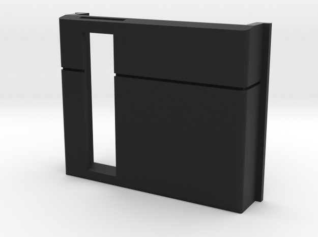 PC200 Expansion Slot Door - Front Slot in Black Natural Versatile Plastic