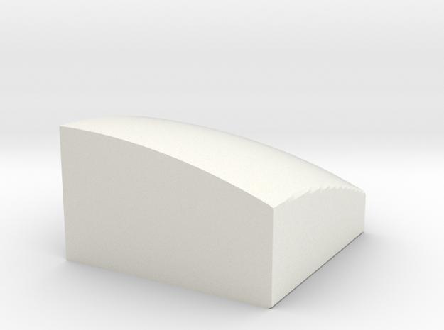 4x4 ball center in White Natural Versatile Plastic