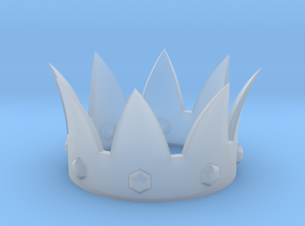 Crown in Smooth Fine Detail Plastic