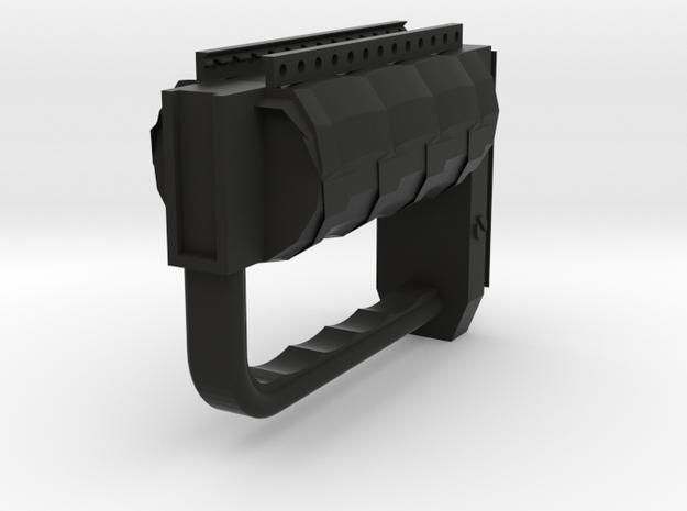 Sydex Foregrip in Black Natural Versatile Plastic