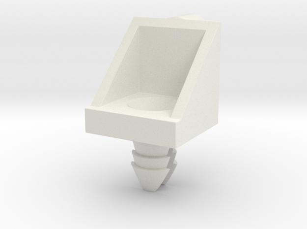 Ikea SHELF PEG - 101558 / 115344 / 101558 / 139199 in White Natural Versatile Plastic