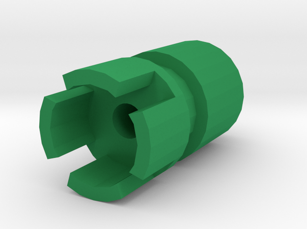 SM-55 Airsoft Muzzle (14mm-) in Green Processed Versatile Plastic