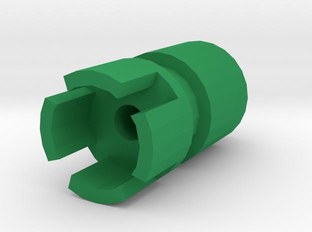 SM-55 Airsoft Muzzle (14mm-) in Green Processed Versatile Plastic