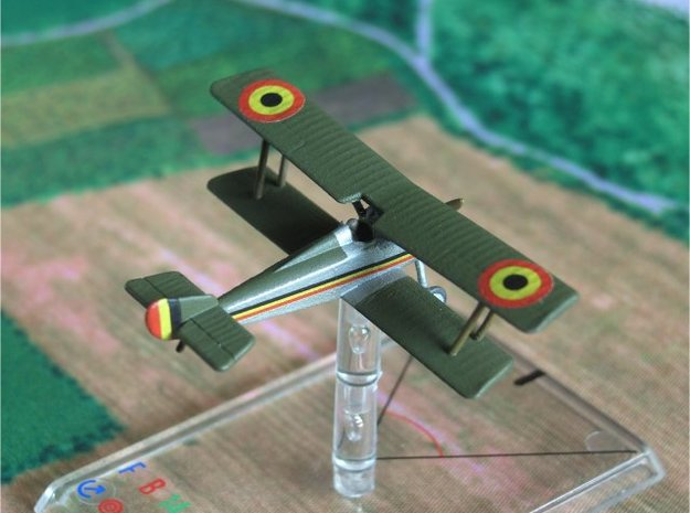 1/144 Hanriot HD.1 in White Natural Versatile Plastic