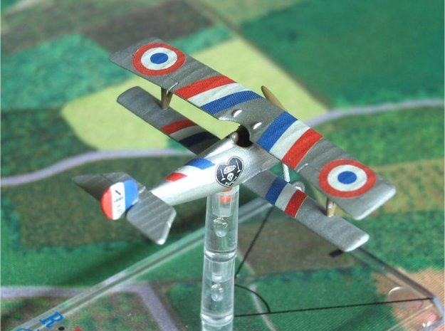 Nieuport 17 bis (vickers, 1/144) in White Natural Versatile Plastic