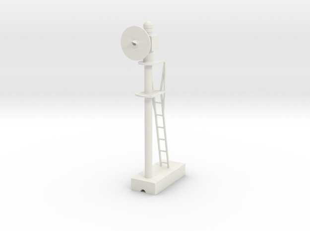 Searchlight  - Left 22 5-1 G Scale in White Natural Versatile Plastic