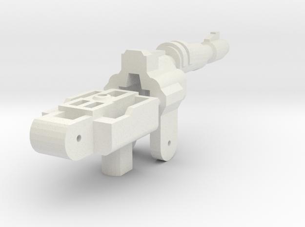 Gunmaster # 3 Single-Barrel in White Strong & Flexible