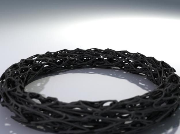 Scribbled Bracelet 3d printed Description