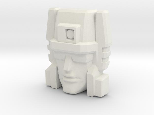 Slugslinger G1 Toy Face (Titans Return) in White Strong & Flexible
