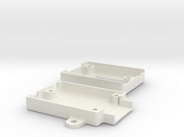 RFD900 Housing in White Strong & Flexible