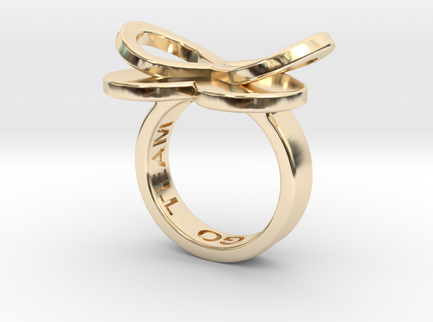 AMOUR in 14k gold in 14K Yellow Gold: 7 / 54