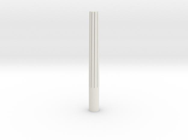 Inner Barrel Crown Cutter in White Natural Versatile Plastic