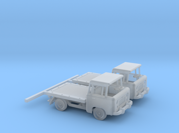 1959 FC150 Pickup Truck with a Flatbed (x2) in Smooth Fine Detail Plastic: 1:160 - N
