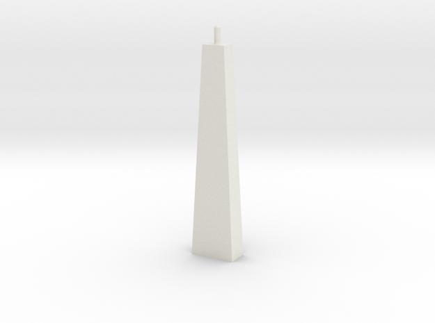 Pylon Wdw Single N 50 in White Natural Versatile Plastic