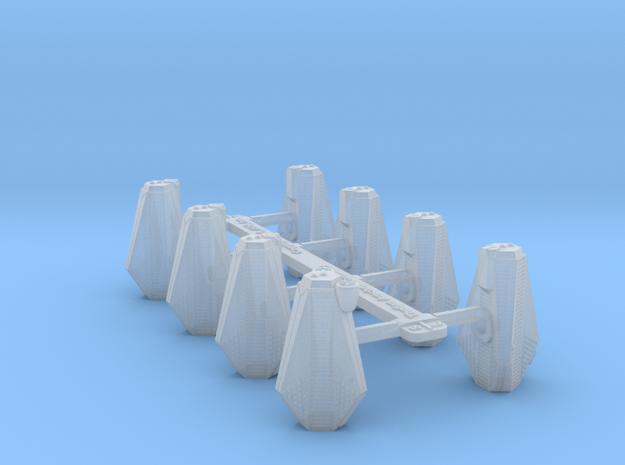 Omni Scale Tholian Arachnid Gunboat Flotilla SRZ in Smooth Fine Detail Plastic