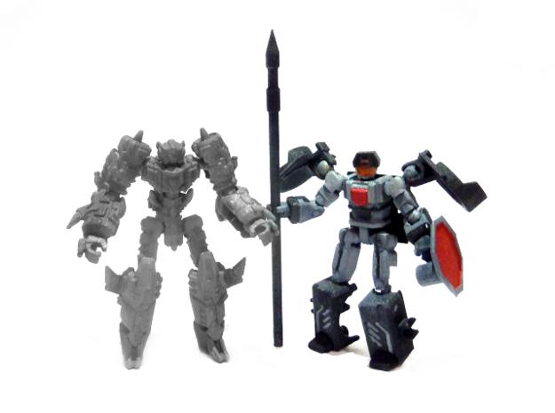 "02-ASV ""Recon"" 3d printed Size Comparison with Alert Knight"