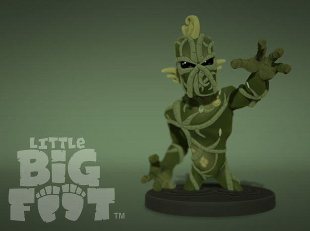 Little Swamp Monster in Full Color Sandstone