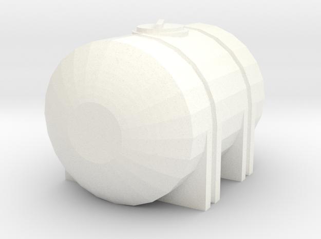 1/64 125 Gallon Tank in White Processed Versatile Plastic