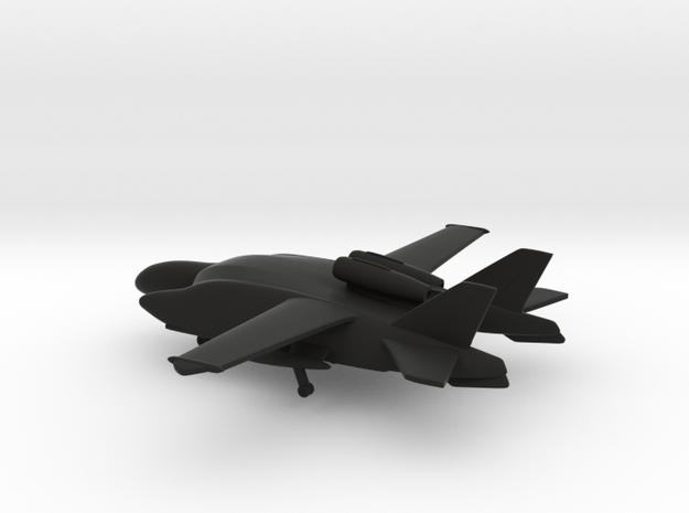 Beriev VVA-14 1M (Landing Gears) in Black Natural Versatile Plastic: 1:400