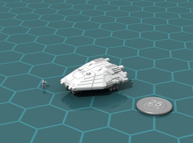 Planet Hopper in White Strong & Flexible