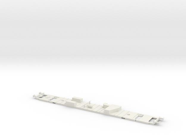 #21C - 51 81 50-40 100 Untergestell in White Natural Versatile Plastic
