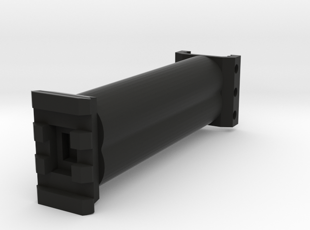 HMP 100mm Extension in Black Natural Versatile Plastic