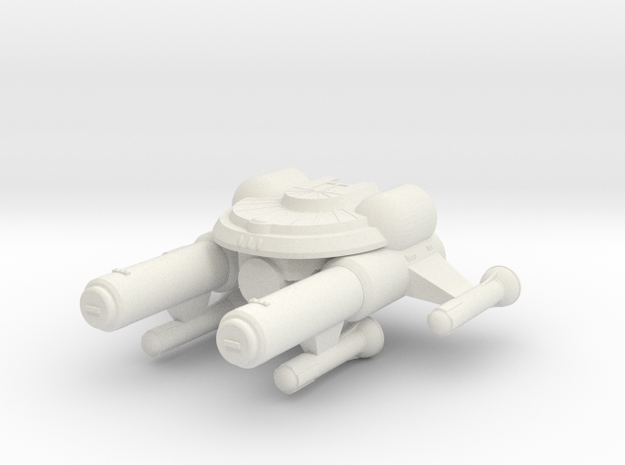 3788 Scale Seltorian Dreadnought (DN) MGL in White Natural Versatile Plastic