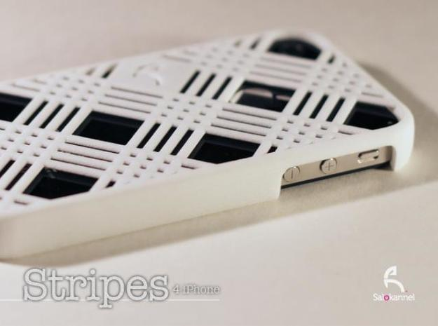 Stripes - case for iPhone 4/4s 3d printed Description
