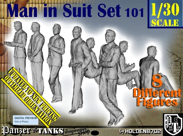 1/30 Man In Suit Set101