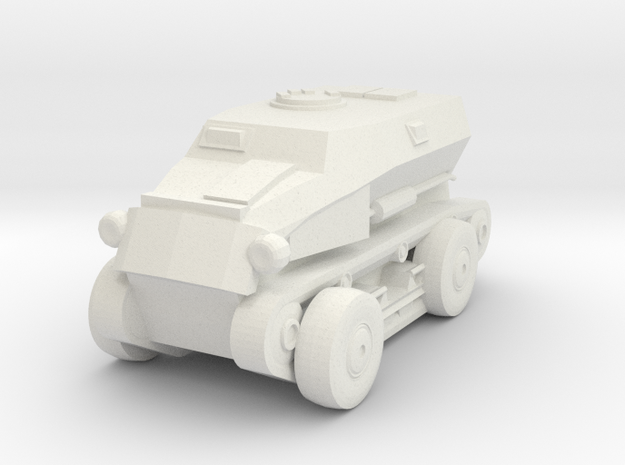 1/87 SdKfz.254 in White Natural Versatile Plastic