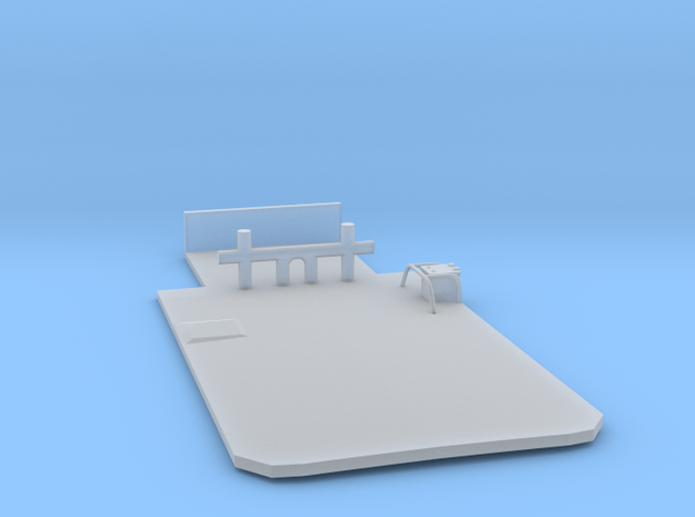 Main Deck Inlay 1/144 V56 fits Harbor Tug  in Smooth Fine Detail Plastic