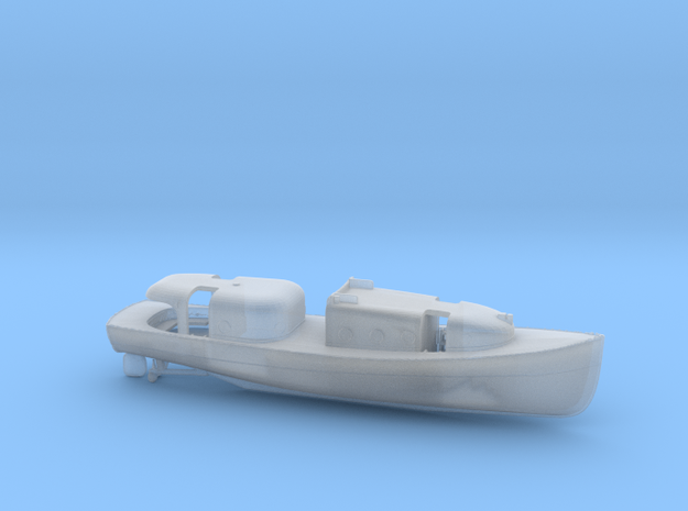 1/172 USN Admirals Boat in Smooth Fine Detail Plastic