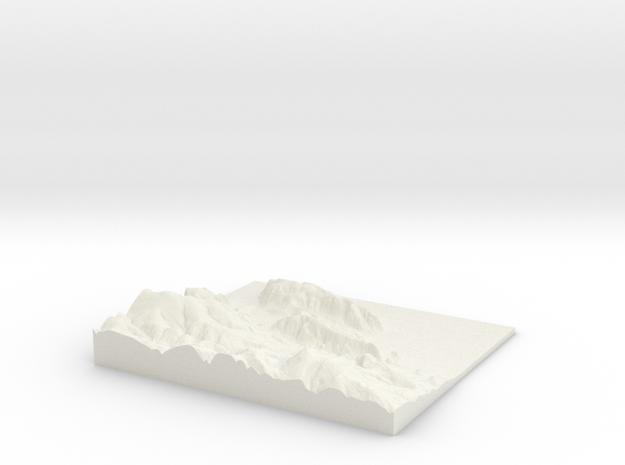 W288 S138 E302 N150 Minehead Somerset in White Natural Versatile Plastic