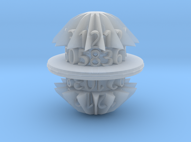 d30 egg spool die in Smooth Fine Detail Plastic