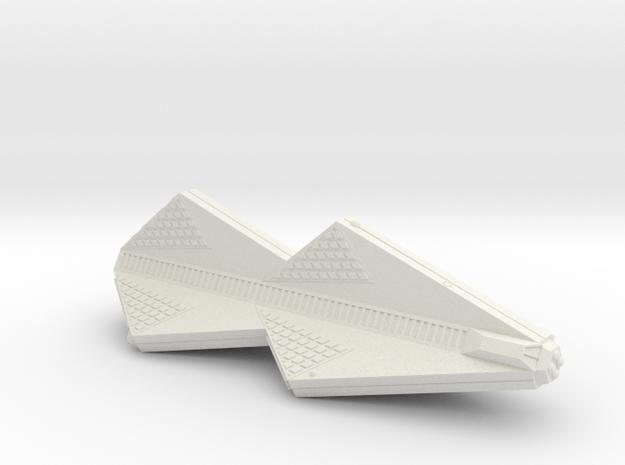 3788 Scale Tholian War Cruiser (CW) SRZ in White Strong & Flexible
