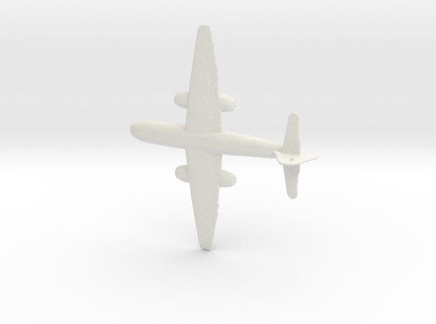 1:200 Arado Ar-234  in White Natural Versatile Plastic