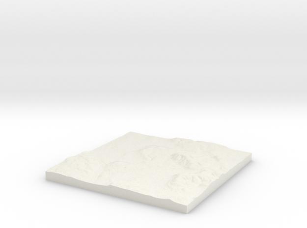 Oxford W450 S200 E460 N210  in White Natural Versatile Plastic