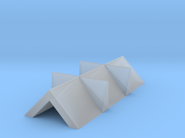 Hoppering Insert for 16t slope sided mineral in Smooth Fine Detail Plastic