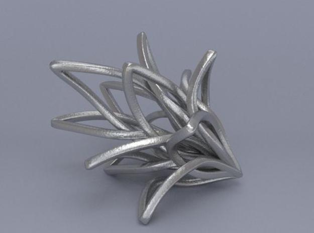 Spiral Flower 3d printed Render 6