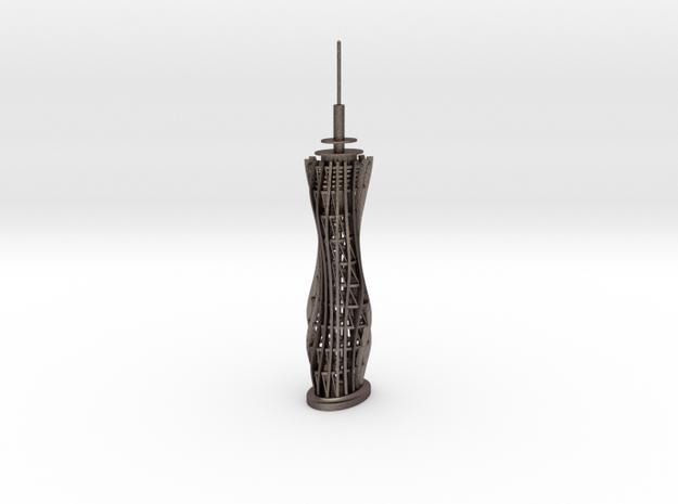 Pyramidenkogel Tower (single-part model) in Stainless Steel